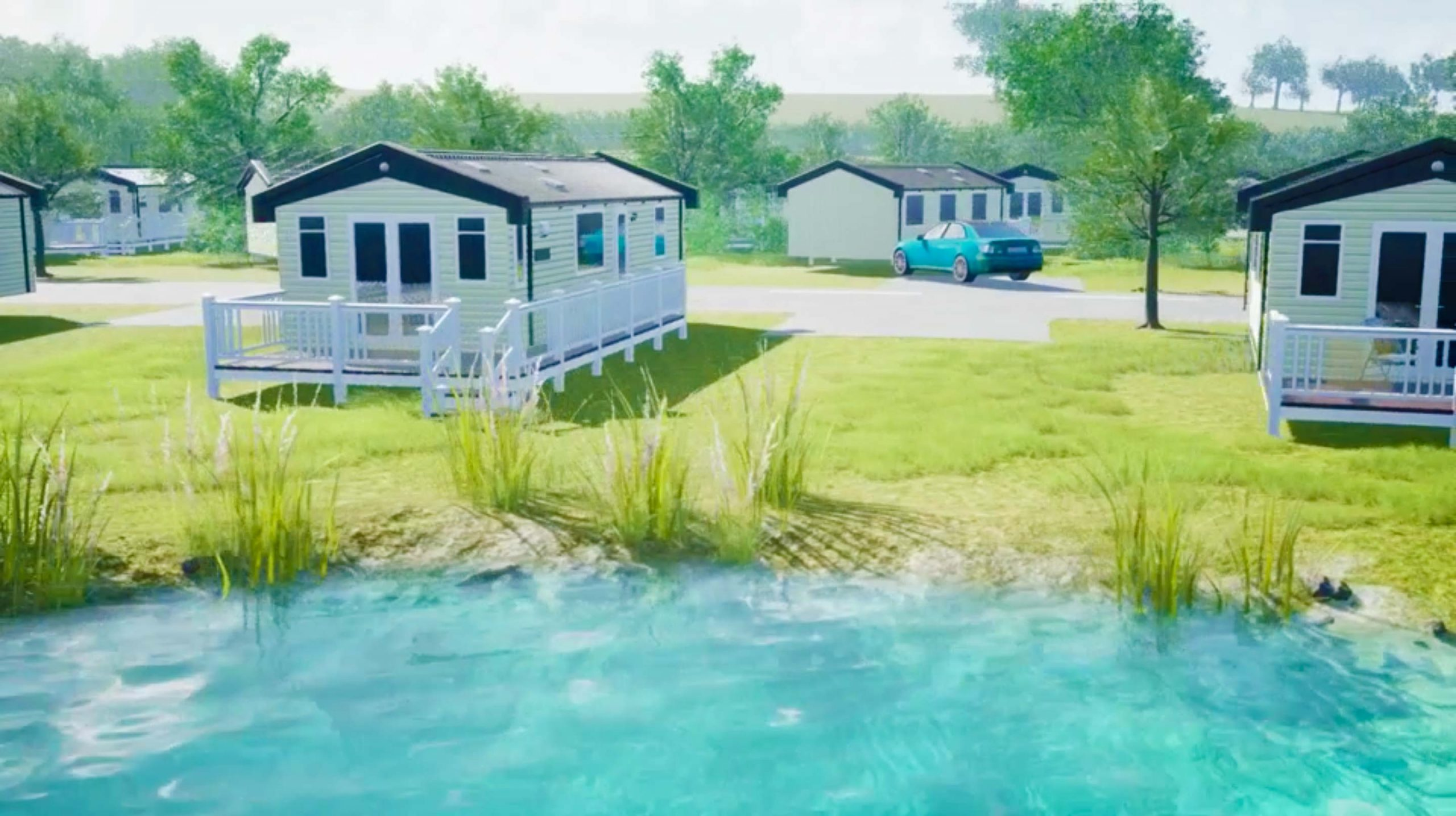 static caravans for sale mid wales